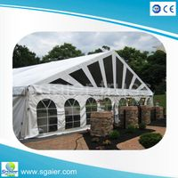 Deluxe Outdoor gazebo party tent marquee party wedding tent thumbnail image