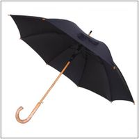 best men umbrella with wood handle thumbnail image
