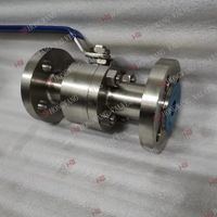Stainless Steel Forging Industrial High Pressure 2PC Flanged Ball Valve