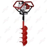 1 or 2 persons operateEARTH AUGER MACHINEBasic info
