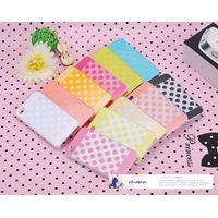phone Accessories two-color wave point glossy jelly case for iphone 5 design cover