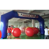 pvc tarpaulin Best quality inflatable cerebration arch inflatable archway