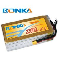 Bonka-22000mah-4S1P-25C muticopter lipo battery