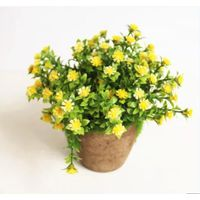 Green Artificial Flower Bonsai Home Decor Wedding Decoration Wedding Flower thumbnail image