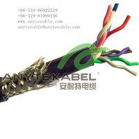 Twist pair Double sheath shielding control cable