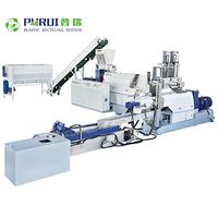 Single screw extruder pelletizing line recycling line