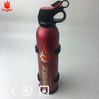 1KG Portable Red Aluminum Alloy ABC40 Dry Powder Extintor for Vehicle Using With CE Standard