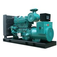 200KW 400V 1500rpm Marine Diesel Generator Cummins Generator with Marathon Alternator