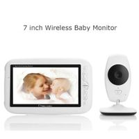 2.4G 7 inch Wireless Baby Monitor Video Babysitter