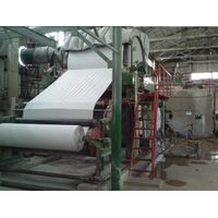 High Standard Production Process Hemp Pulp 2400mm Toilet Paper Making Machine