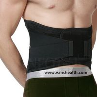 Lumbar Lower Back Brace and Support Belt with Breathable Mesh for Back Pain Relief