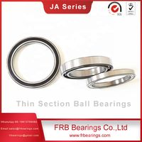 Thin section sealed four point contact bearings JA series bearings