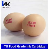 NICEINK food grade tij ink cartridge for egg hp 2.5 therml inkjet