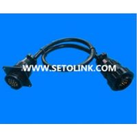 14 PIN MALE TO FEMALE OBD ADAPTER CABLE