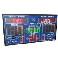 LED electronic digital scoreboards for basketball and shot clocks