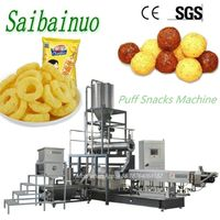Twin screw food extruder corn puff snack machine thumbnail image