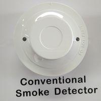 2 wire conventional smoke sensor detector fire alarm thumbnail image