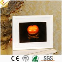 Halloween decorations Jack-o-lanterns wood farmed lighting decoration
