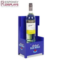 King's Throne Glorifier Acrylic Wine Display Stand with LED to Illuminate the Bottle