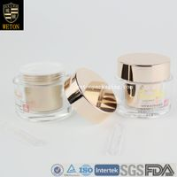 Luxury Cosmetic Acrylic Cream Jar