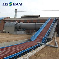 Waste paper slat chain conveyor for paper plant