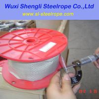 6*7+FC hot dip galvanized steel wire rope
