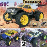 RC Toy car-RC 10 4wd Nitro off-road Truck