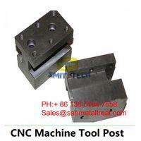 CNC lathe machine cutting tool holder tool post