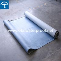 High quality pre-applied self adhesive HDPE sheet for underground projects