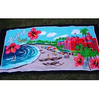 Hawaill velour beach towel