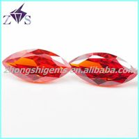 Made in China Marquise Shape Glass Gems