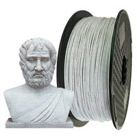 Factory RoHS high quality Marble color PLA 3d printer filament thumbnail image