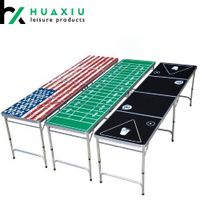 8FT Tailgate Table Outdoor Drinking Game Table