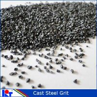 Steel grit G14/1.7mm used to scale removal