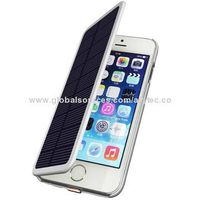 2,800mAh Solar Charger for iPhone 6, Supports Solar Battery to Charge this Power