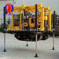 diesel engine crawler mounted core drilling equipment XYD-130 crawler hydraulic core drilling rig thumbnail image