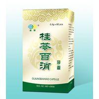 GUILINGBAIXIAO CAPSULE for Hysteromyoma Anti tumour hysteromyoma Ovarian cyst Endometriosis uterine
