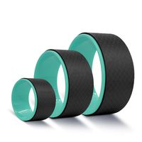 Wholesale Fitness Yoga Wheel ABS Yoga Wheeler Set
