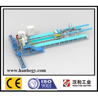 hot induction heating bending machine