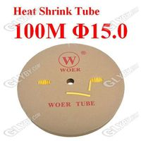 Halogen Free Flexible Heat Shrink Tubing Tube 100M 15.0mm Diameter