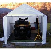 2.5m(8.2') wide Mini Garden Storage Sheds, Cheap Motorcycle Garage, Portable Shelters