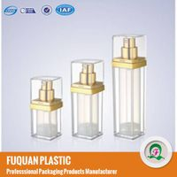 Clear Square Airless mist pump Cosmetic Bottles thumbnail image