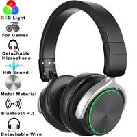 2019 Edition Multiple RGB Light Bluetooth Wireless Gaming Headset For Audio PC PS4 XBOX thumbnail image