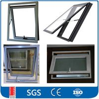 Aluminum Frame Awning Window With Low-E glass