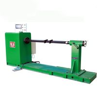 Transformer flat wire coil winding machine