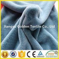 knitt brush velboa fabric with printing for sofa, furniture, home textile/stripe velboa