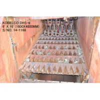 """USED """"KOBELCO"""" DHS-6 (1800MM X 4800MM) 6' X 16' VIBRATING GRIZZLY FEEDER S/NO. 14-1168 thumbnail image"""