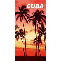 Cotton reatcive printed beach towel thumbnail image