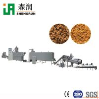 Big Output Dog Cat Feed Extruder Equipment Pet Feed Inflating Device Production Line