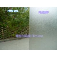PVC window decorative film FMG-008(no glue, static cling)